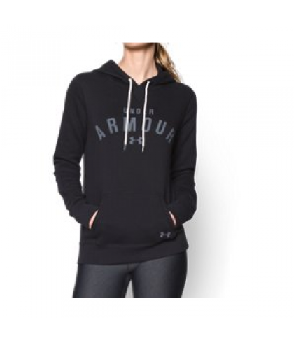 Under Armour Women's  Storm Rival Cotton Pullover Hoodie