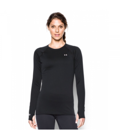 Under Armour Women's  Base 1.0 Crew Long Sleeve