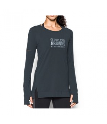 Under Armour Women's NFL Combine Authentic  Pinnacle Long Sleeve T-Shirt