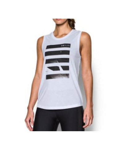 Under Armour Women's  Midnight Run Muscle Tank
