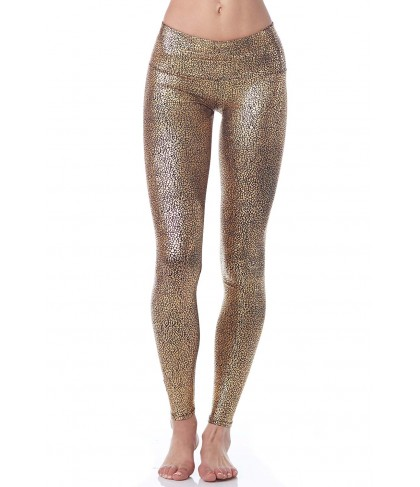 Purusha People Gold Goddess Legging