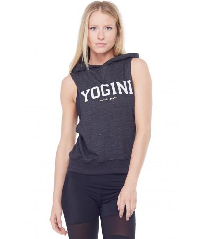 Spiritual Gangster Yogini Hooded Muscle Sweatshirt
