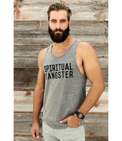 Spiritual Gangster Stacked Logo Tank