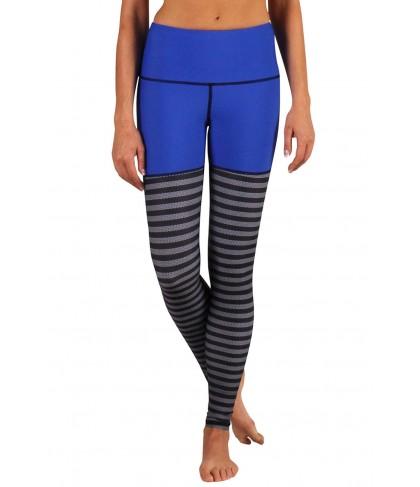 Yoga Democracy One Blue Knit Urban Active Legging