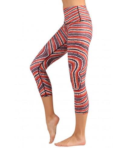 Yoga Democracy Snake X Cropped Legging