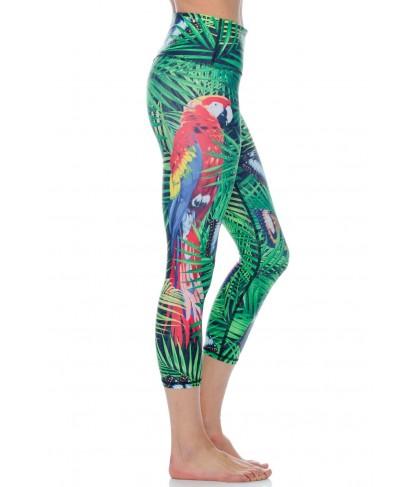 Yoga Democracy Tropical Escape Cropped Legging