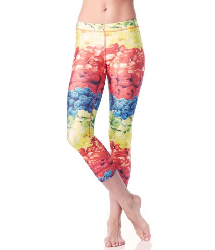Terez Fruit Cup Performance Capri Legging